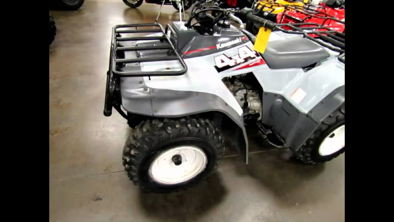 used bayou 400 4x4 for sale at romney cycles! - youtube