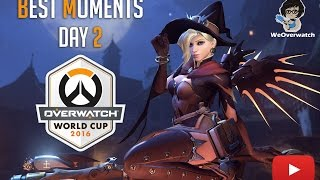 Overwatch World Cup - BlizzCon 2016 - Best Moments Day 2