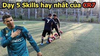 Thử Thách bóng đá 5 skills qua người hay nhất của Ronaldo World Cup 2018