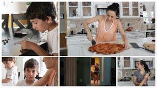 Arqa Money & Beans - Pizza Day - Heghineh Family Vlogs