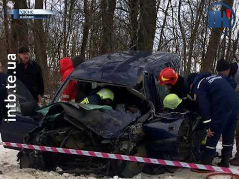 Телеканал ІНТБ: На Тернопільщині іномарка не розминулася з КамАЗом
