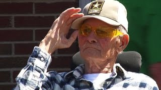 Dan Thorn: World War II Vet gets a new home after June