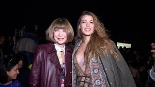 Blake Lively, Anna Wintour and more front row of Dior Fashion Show