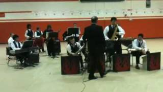 Living in a Dream by Doug Beach, performed by AVHS Jazz band
