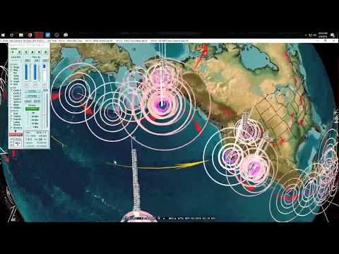 5/09/2018 -- Multiple M6.0 earthquakes strike across planet -- West coast California unrest