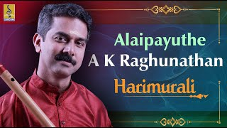 Alaipayuthe a Carnatic Flute Concert by A.K.Raghunadhan