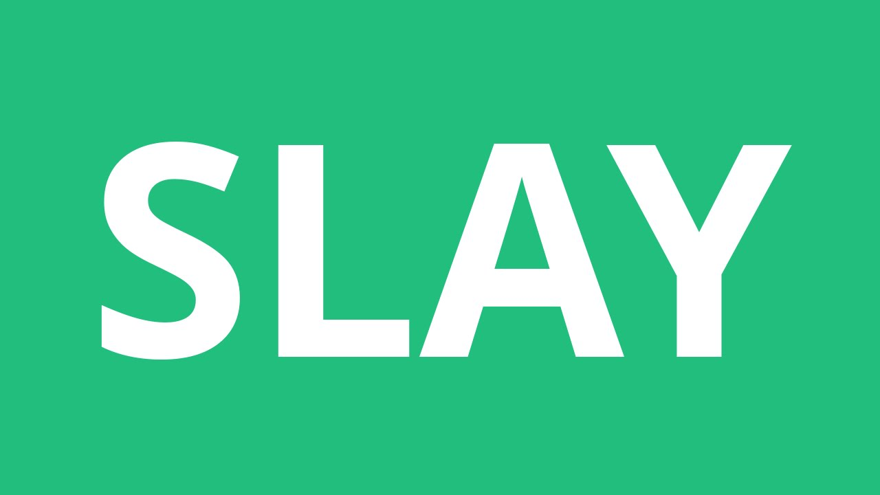 slay wallpaper in words - photo #6