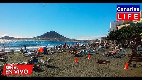 📹🔴 LIVE WEBCAM from El Médano Granadilla de Abona Tenerife