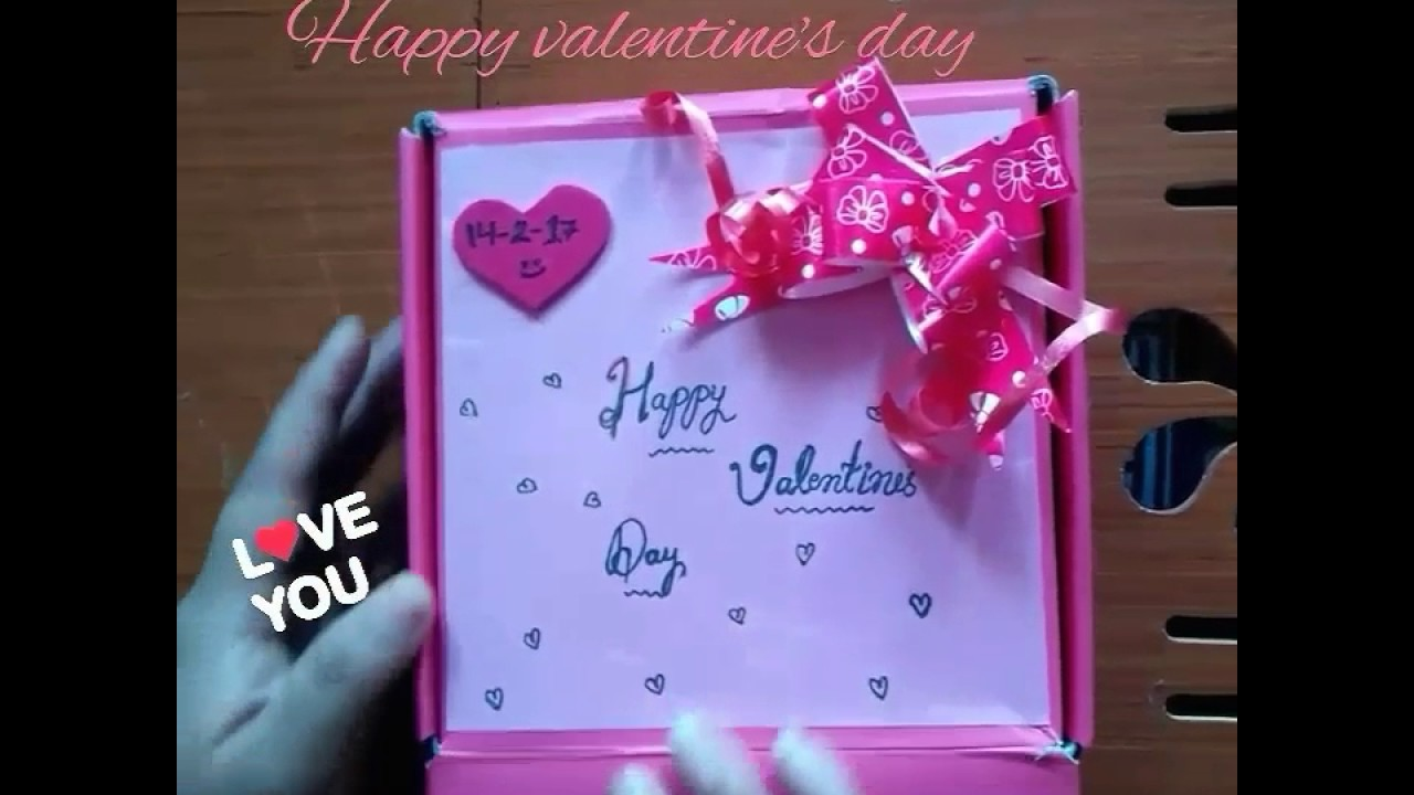 Valentines Gift For Husband A Small Gift For Him Youtube