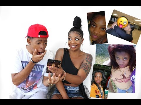 Download Youtube: BOYFRIEND REACTS TO OLD PHOTOS OF GIRLFRIEND & HER EX