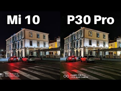 Xiaomi Mi 10 Vs Huawei P30 Pro Camera Comparison