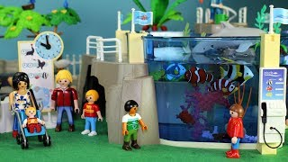Playmobil Aquarium Park Sea Animals Fun Play Toys For Kids
