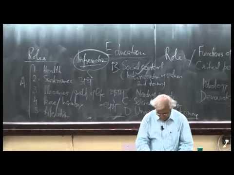 Mod-01 Lec-22  Education-II: Functions of education