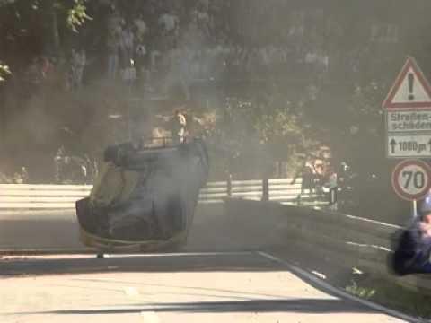 Volkswagen Beetle Rally Crash