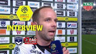 Interview de fin de match :Girondins de Bordeaux - EA Guingamp (0-0) / 2018-19