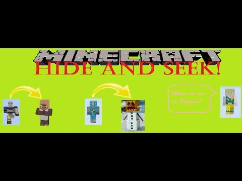 Minecraft Villagers And Snow Golem Hide And Seek 6 Birthday
