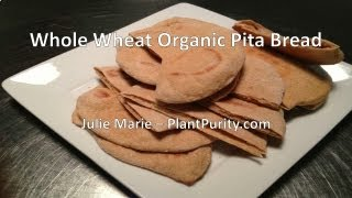 Whole Wheat Organic Pita Bread