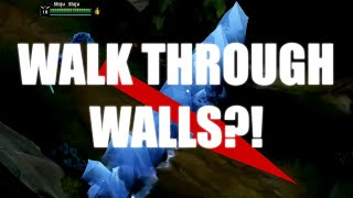 How to WALK THROUGH WALLS?! | Pathfinding Algorithm In-depth Interactions | League of Legends