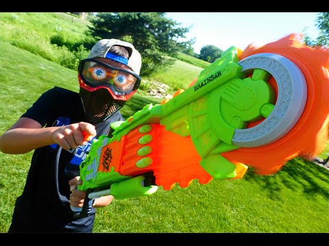 Thumbnail: Nerf War: Brainsaw Mayhem 2