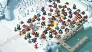 青像ブーストの島を正面からぶつかって攻略出来るユニット編成です.