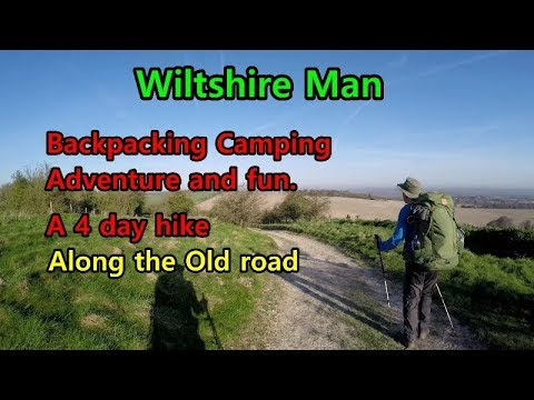 Backpacking Camping and Hiking the long distance trails, Fun, Kit, Adventure. Whole route. One vid:)