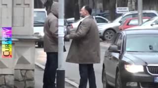 Igor Dodon & Politia Rutiera fac ambuteiaje lîngă SIS şi Parlament