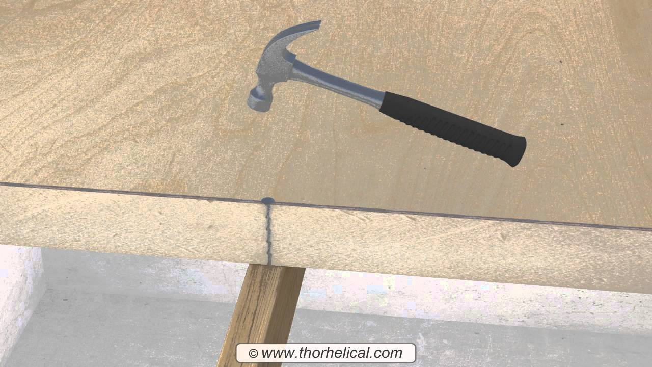 Flat Roof Fixings For Insulated Warm Roof Panels Youtube