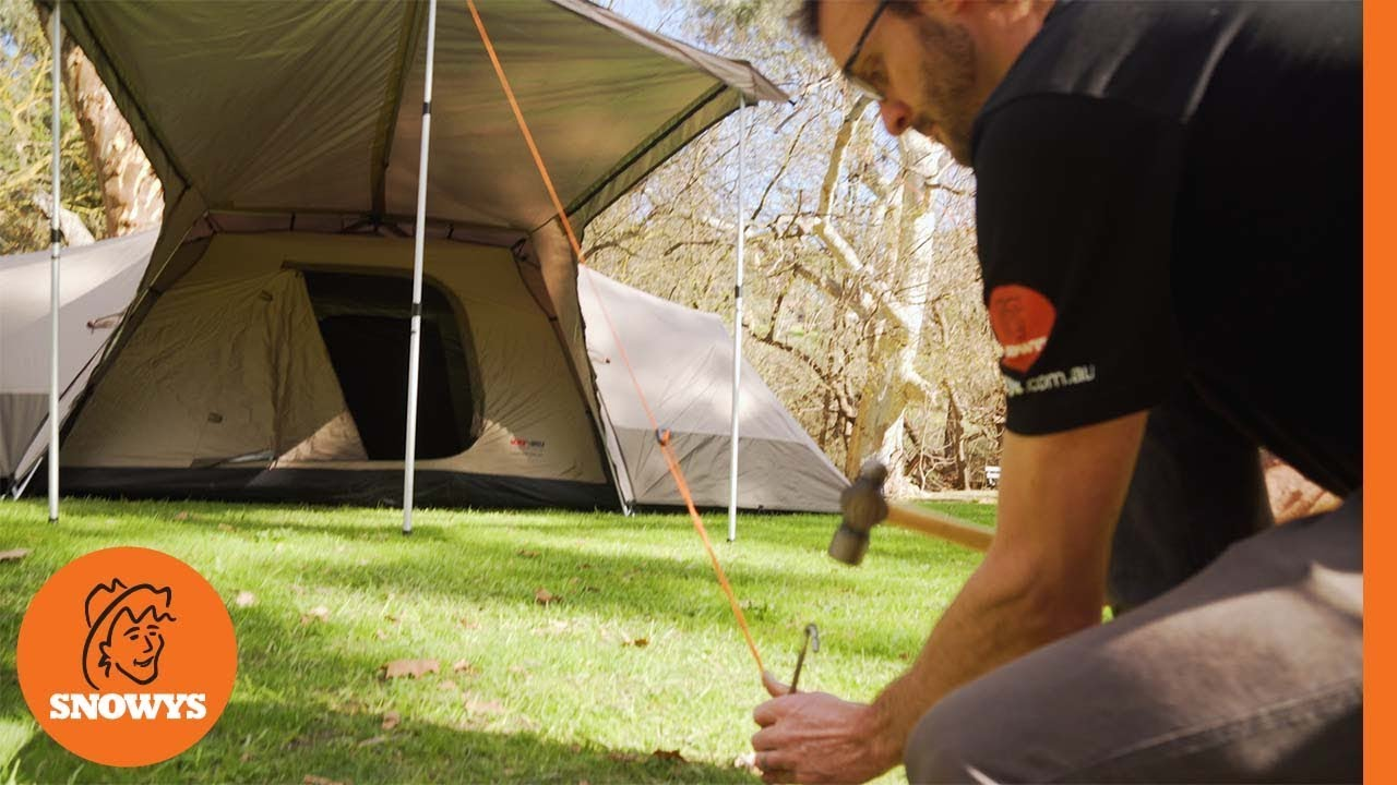 Black Wolf Turbo Lite Twin 300 Tent Features Youtube