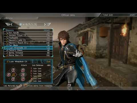 Dynasty Warriors 9 - Patch 1.04 analysis, and attack speed/fire hybrid build showcase