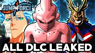 JUMP FORCE ALL 9 DLC CHARACTERS LEAKED! Season Pass DLC Characters Datamine!