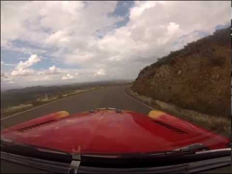 2013 La Carrera Panamericana MUST SEE, Doug Mockett & Angelica Fuentes 1954 Olds 88