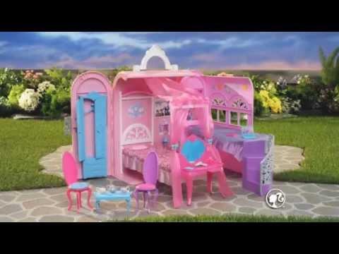 Barbie chambre magique et cal che musicale youtube - Barbie caleche ...