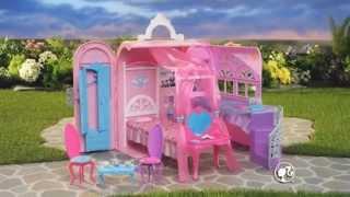 Barbie® Chambre magique et calèche musicale