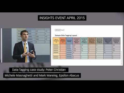 Data Tagging case study: Peter Christian