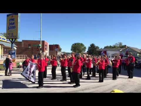 Pekin Middle School Band 2015 Ottumwa Oktoberfest Parade