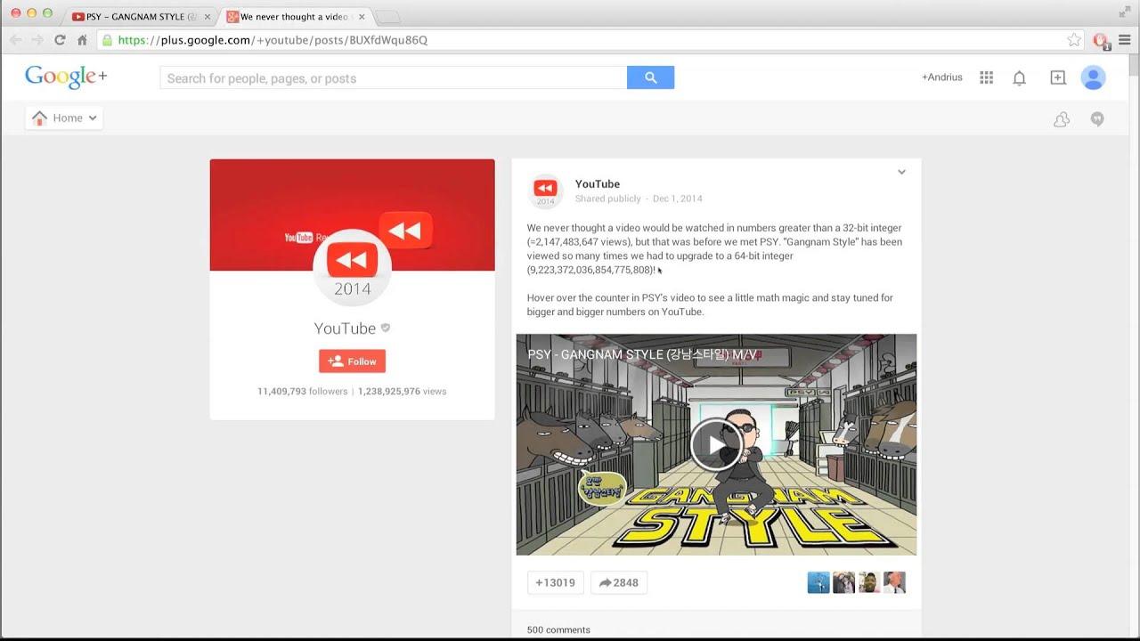 Psy's Gangnam Style Broke Youtube - 126.8KB