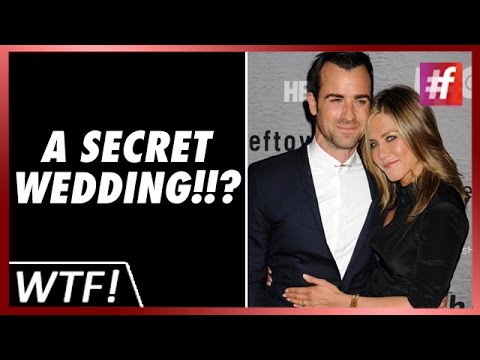 #fame hollywood - Jennifer Aniston Secretly Marries Justin Theroux!