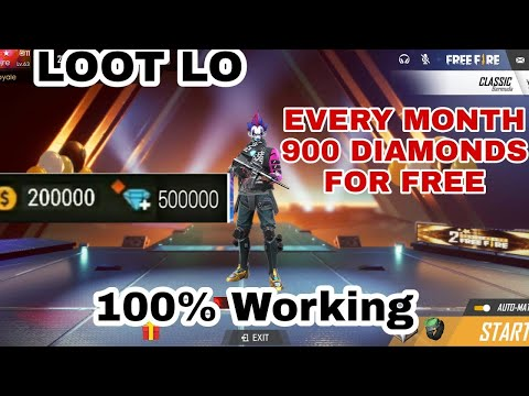 New Trick To Get Free diamond At FreeFire 2019