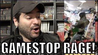 Angry Customer Destroys Gamestop Store Over Fallout 76 (epic Footage) | 8 Bit Eric