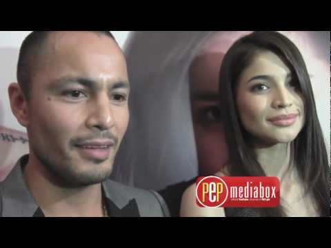 Anne Curtis and Derek Ramsay talk with the press over various topics