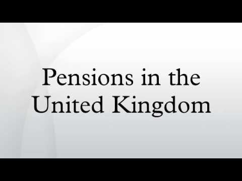 Pensions in the United Kingdom