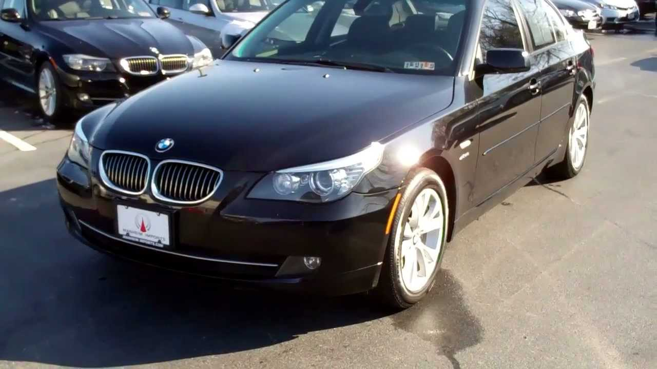 2009 bmw 535i xdrive 6 speed manheim imports youtube. Black Bedroom Furniture Sets. Home Design Ideas