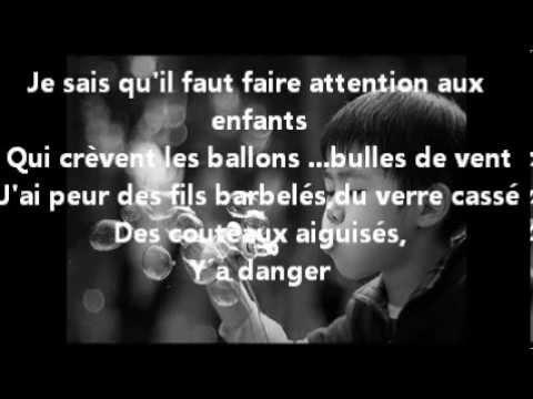 bulles de savon Michel Polnareff karaoké
