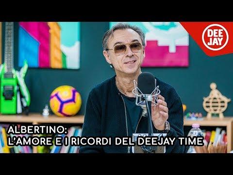 Albertino: tutto l'amore dei fan e i ricordi del Deejay Time