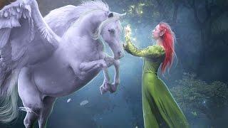 Speed art Photo manipulation - Pegasus and elf (photoshop cs6)