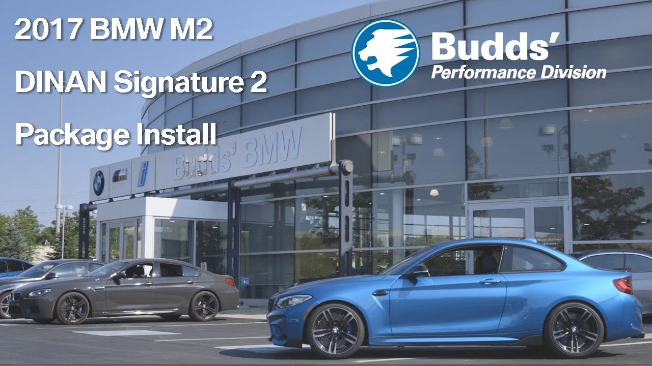2017 BMW M2 DINAN Signature 2 Package Budds Performance  YouTube
