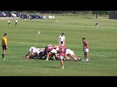 (WI-17') Collegiate Rugby - Indiana vs. Wisconsin (Full Match) 9/23/17
