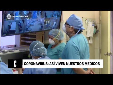 El día a día del coronavirus en nuestro hospital - Cuarto Poder