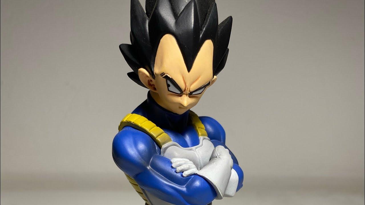 Download Review Español   SCULTURES VEGETA   Dragon Ball Figuras