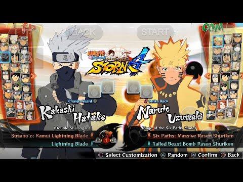 Naruto Shippuden Ultimate Ninja Storm 4 Mobile Gameplay (Android IOS APK)